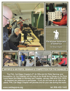 PVA, Cal-Diego Air Rifle & Air Pistol Seminar & Competition @ San Diego Naval Sub Base | San Diego | California | United States