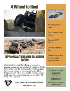 53RD ANNUAL TIERRA DEL SOL DESERT SAFARI @ Ocotillo Wells   California   United States