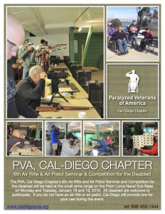 6th Air Rifle & Air Pistol Competition @ San Diego Naval Base, Point Loma | San Diego | California | United States