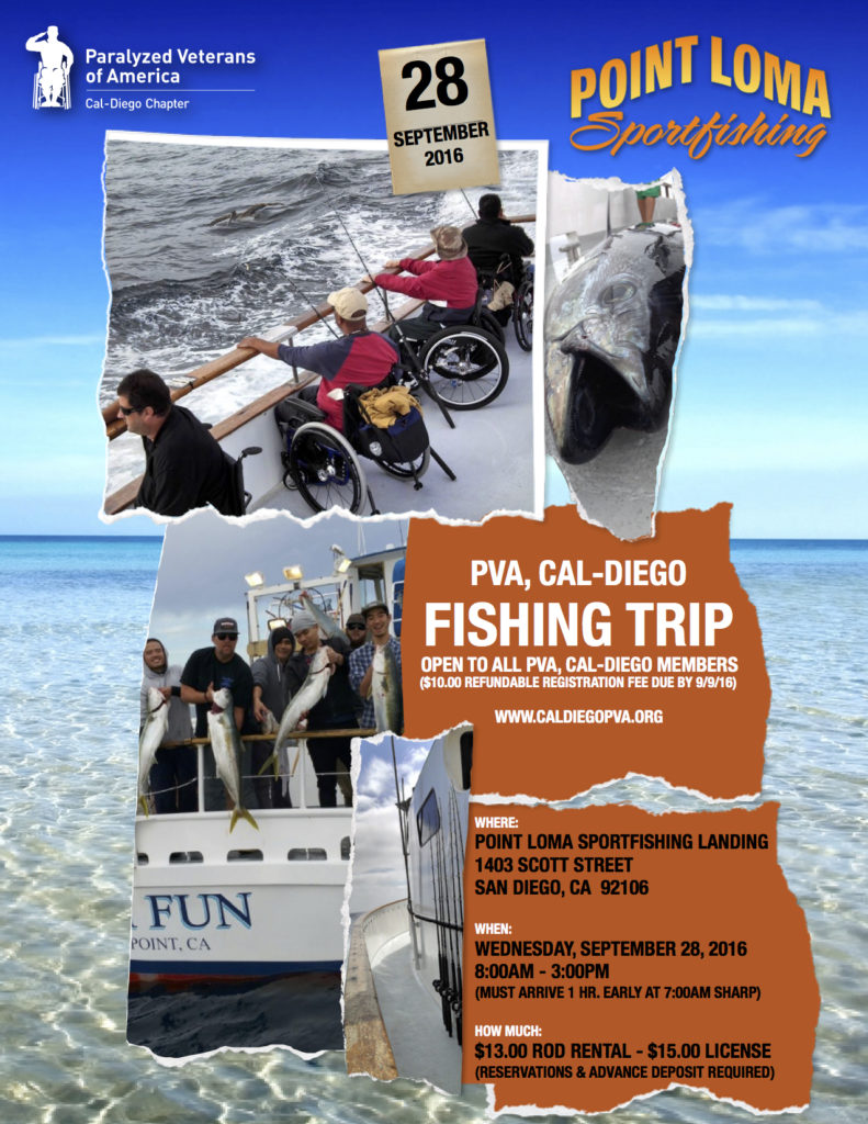 Pva cal diego fishing trip pva cal diego chapter for Fishing license san diego