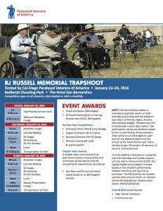 BJ Russell Memorial Trapshoot @ Redlands Shooting Park | Redlands | California | United States