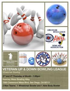 PVA, Cal-Diego Bowling League @ Kearney Mesa Bowling Alley | San Diego | California | United States
